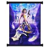 Final Fantasy X-2 Game Fabric Wall Scroll Poster (81.28 cm X 106.68 cm))