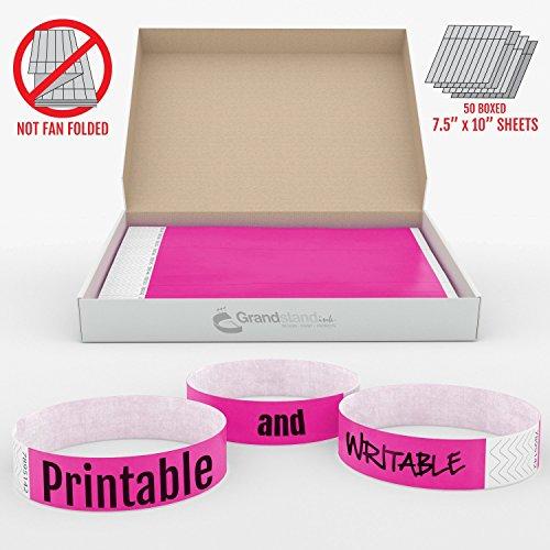 grandstandstore-braccialetti-vip-per-eventi-19-mm-per-identificazione-facile-confezione-da-500-pezzi