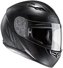HJC Motorradhelm - CS 15 Treague MC5SF, Noir, Größe XL