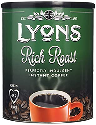 Lyons Instant Coffee Granules 750 g (Pack of 1) by Lyons