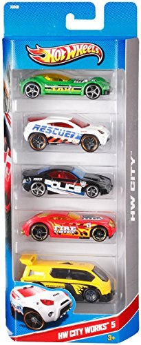 Hot Wheels Cool 'N Custom Vehicles 5 Pack