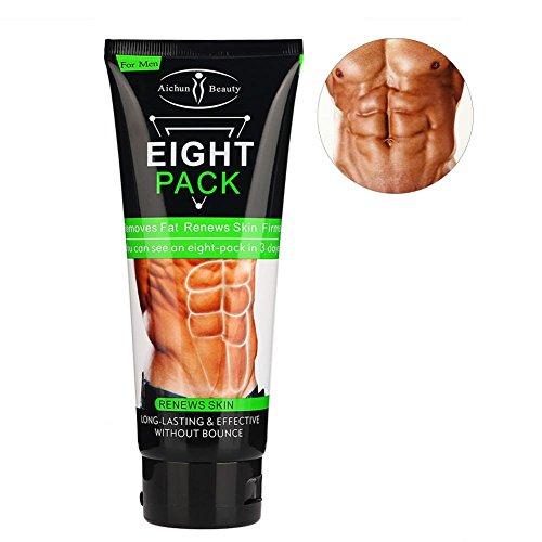 Fettverbrennung Creme, Anti-Cellulite-Creme Unisex Abnehmen Creme Fettverbrennung Muskel Bauch Fett Burner für Weight Loss und Anziehen...