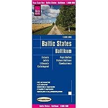 Reise Know-How Landkarte Baltikum (1:600.000) : Estland, Lettland, Litauen und Region Kaliningrad: world mapping project