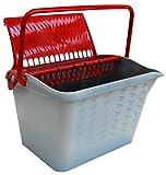 Nespoli 80213-Cubo para pintura, rojo, set de 2piezas