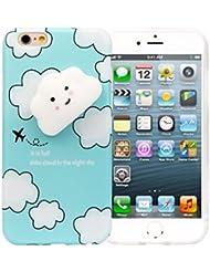 Stress Ball, Squishy Stress Squeeze jouet Squishy 3d Cute Cloud Coque arrière en silicone pour iPhone 6/6s 11,9cm par Fhikf