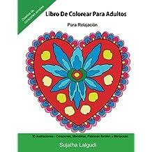 Libro De Colorear Para Adultos: Para Relajacion: Relájate coloreando patrones, Libro colorear adultos, Con Amor, Corazones, Mandalas, Patrones 14 (Libros muy RELAJANTES para colorear)