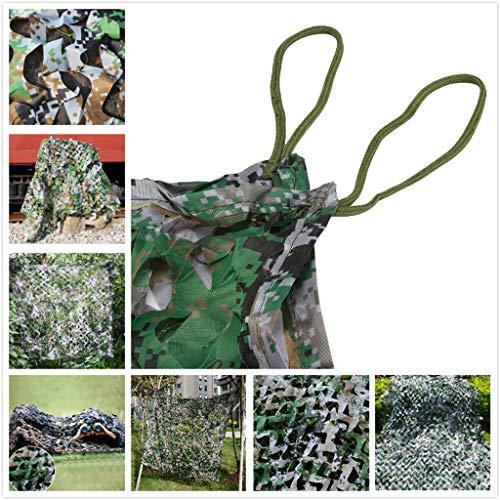 Sonnenschutznetz Für Garten, 3x5m 2m 4x8m Grünes Tarnnetz Sonnenschutz Sonnenschutzgitter Markisen Für Balkon Terrassenschutz Sichtschutz Pflanzenschutz Autoabdeckung 5m 6m 7m 10m (Size : 4 * 6M)