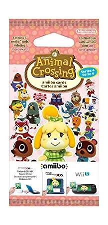 Nintendo - Pack 3 Tarjetas amiibo Animal Crossing HHD - SERIE 4