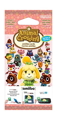 Paquet de 3 cartes : Animal Crossing - série 4 (1 spéciale + 2 standard)