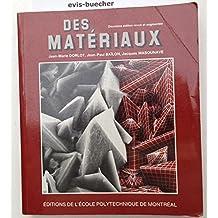 DES MATERIAUX. 2ème édition
