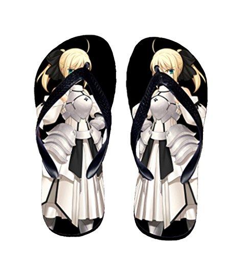 Bromeo Steins Gate Anime Unisex Flip Flops Zehentrenner Flip Pantoffeln 816