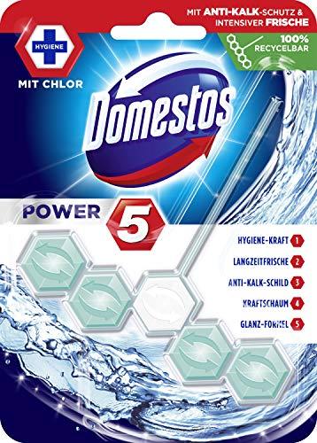 Domestos WC-Stein Power 5 Chlor, 9er Pack(9 x 55 g)