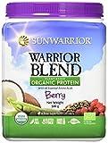 Sunwarrior Proteina Vegetale Bacche Rosse Warrior Blend - 500 g