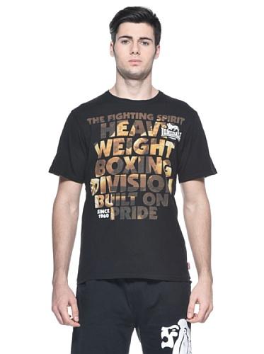 Lonsdale Herren T-Shirt Matthew Black