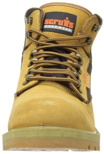 Scruffs Twister Chaussures de travail en nubuck - Grès
