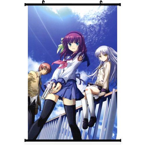 1x Anime Angel Beats. Póster desplazamiento pared