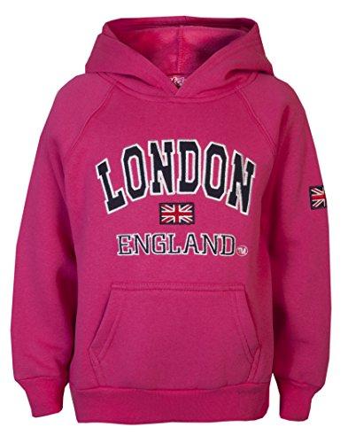 Sweat-shirt à capuche pour enfant London Love Lola -...