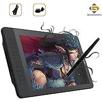 GAOMON PD1560 Interaktives Grafiktablett HD Monitor Mit 10 Express Tasten und 8192 Druckstufen Wiederaufladbarer Stift