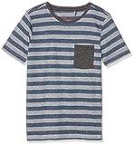 Teddy Smith Jungen T-Shirt Tryper, Blau (Marineblau), 10 Jahre