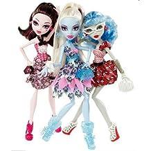 Monster High pack 3 muñecas
