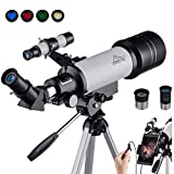 Best Beginner Telescopes - MAXLAPTER Telescopes for Astronomy, Ultra Clear HD High Review