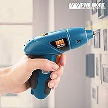 Pwr Work ig107118–Tournevis électrique avec accessoires