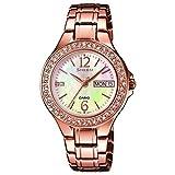Casio Sheen Montre Bracelet Femme Homme Analogique Quartz Acier Inoxydable She-4800pg...