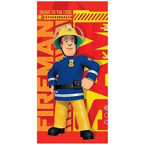 Feuerwehrmann Sam Badeponcho Poncho Badetuch f/ür Kinder 821-349