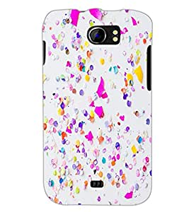 PrintDhaba Pattern D-1164 Back Case Cover for MICROMAX A110Q CANVAS 2 PLUS (Multi-Coloured)