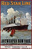 The Poster Corp Unknown - Red Star Line Antwerpen-New York