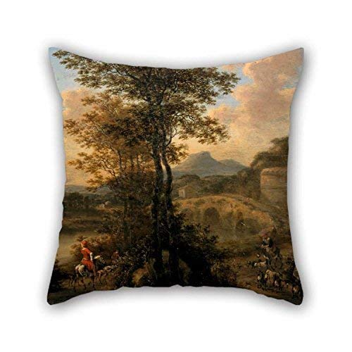 shenhaimojing Classical Throw Christmas Pillow Covers 18 x 18 inches/45 x 45 cm Best Choice for Club Car Seat Wife Lounge Bar Seat Living Room