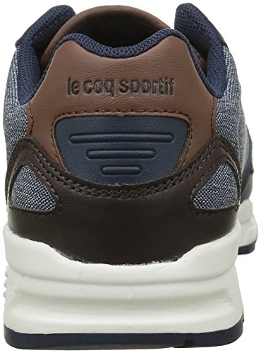 Le Coq Sportif Unisex-Kinder Lcs R900 Gs 2 Tones Sneakers Blau (Dress Blue/Mustang/RDress Blue/Mustang/R)