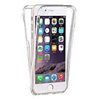 iPhone 6 / 6S Cover 360 full silicone appositamente progettato per il vostro Apple iPhone 6 / 6S. Questa cover iPhone 6 / 6S integrale silicone abbraccia anteriore e posteriore de Apple iPhone 6 / 6S. custodia iPhone 6 / 6S facile da install...