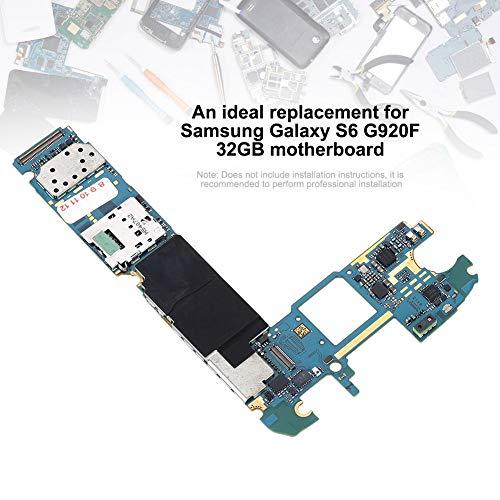 Wendry G935F 32GB Motherboard,Hohe Qualität Motherboard Ersatz für Samsung Galaxy S7,Korrosion und Verschleiß Effektiv zu vermeiden
