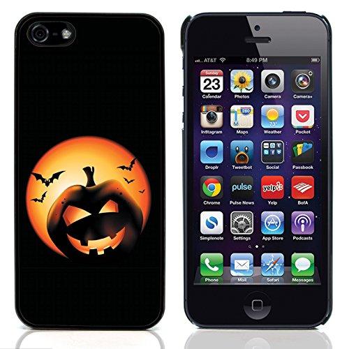 Graphic4You Halloween Allerheiligen Thema Gespenst Design Harte Hülle Case Tasche Schutzhülle für Apple iPhone 5 und 5S Design #1