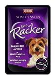 Vom Feinsten Hundefutter Kleiner Racker mit Lammleber plus Äpfeln, 16er Pack (16 x 85 g)