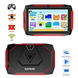 Kinder Tablet 7 Zoll, Kinder Android Tablet GPS Android 9.0 Quad Core CPU 1GB RAM 16GB ROM, 1024x600 IPS HD Display mit Bluetooth 4.1 und WiFi (Schwarz)