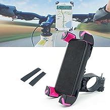 Xcellent Global Supporto Manubrio Universale Bici Moto porta Telefono per iPhone 6s Plus/6/5/4, Samsung S6/S5/S4/S3, Google Nexus, LG, HTC e GPS