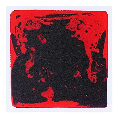 "Art3d Bunte flüssige Tanz-Boden-Puzzles Spielmatte Dekoratives Bodenbelag-System 1 Tile (12\"" x 12\"") A09"