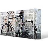 Burg-Wächter buzones, diseño de imagen de correo, chapa de acero de colour blanco, por correo electrónico 5877 vatios 72 x 32 x 10 cm con diseño de nostalgia de la rueda