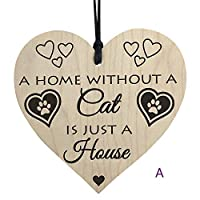 LEEDY Wooden Hanging Gift Plaque Pendant Family Friendship Love Sign Wine Tags Decor, Xmas Decor Baubles Pendant Ornament Decorations Accessories