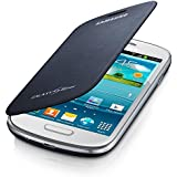 Samsung Original schützende Display-Klappe / Flip-Cover EFC-1M7FBEGSTD (kompatibel mit Galaxy S3 mini) in blue