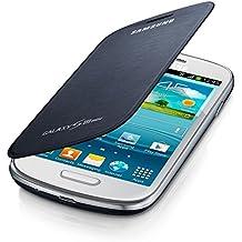 Samsung - EFC-1M7FBEC - Étui à rabat pour Samsung Galaxy S3 MINI i8910 - Bleu