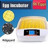Ridgeyard inkubator 56 eier Hatcher Temperaturregelung Digital Automatik Drehen Huhn Geflügel Vogel Haustier Zubehör Werkzeug (56 eggs)