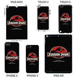 Schutzhülle für Apple, klassisches Filmposter–Nr. A1, A1279 - Jurassic Park - Black, iPhone 5 - 5S