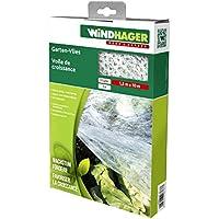 Windhager–Crecimiento Vellón Jardín de 17g/m², estabilizado UV, color blanco, 1000x 150x 0.1cm, 06767