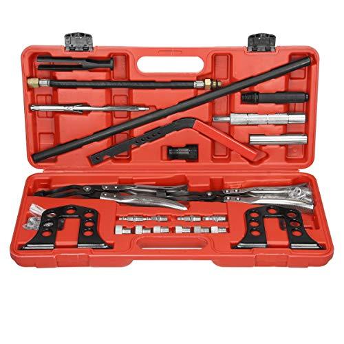 t Ventilfederspanner Ventilschaftdichtung Ventile Werkzeugsatz Wechseln Ventilfeder Montage Werkzeug ()