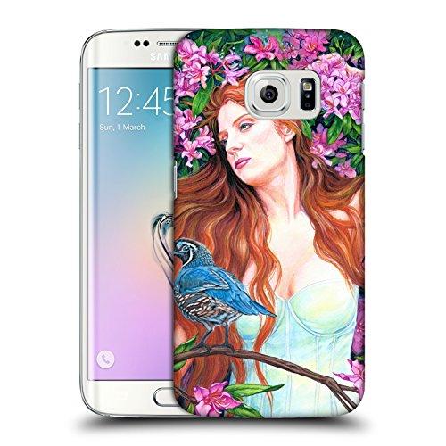 Offizielle Jane Starr Weils Quail Göttin 2 Ruckseite Hülle für Samsung Galaxy S6 edge