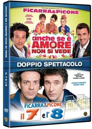 Preisvergleich Produktbild il 7 e l'8 / anche se e' amore non si vede (2 dvd) box set dvd Italian Import by salvo ficarra