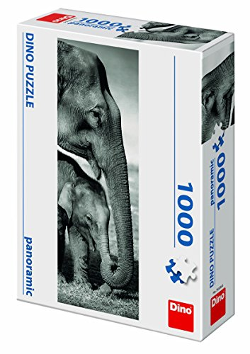 Dino Toys 545366 - Puzzle de Juguete panorámico con diseño de Elefantes